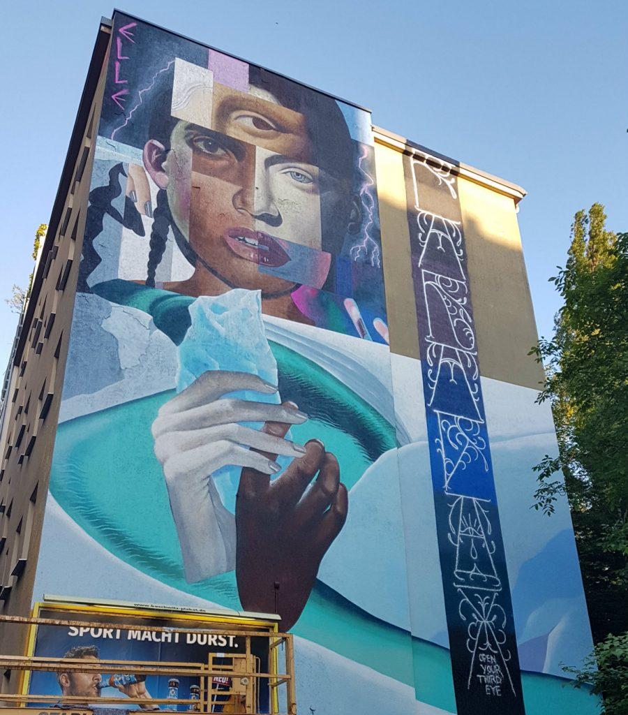 Berlin Mural Fest Kreuzberg Ella