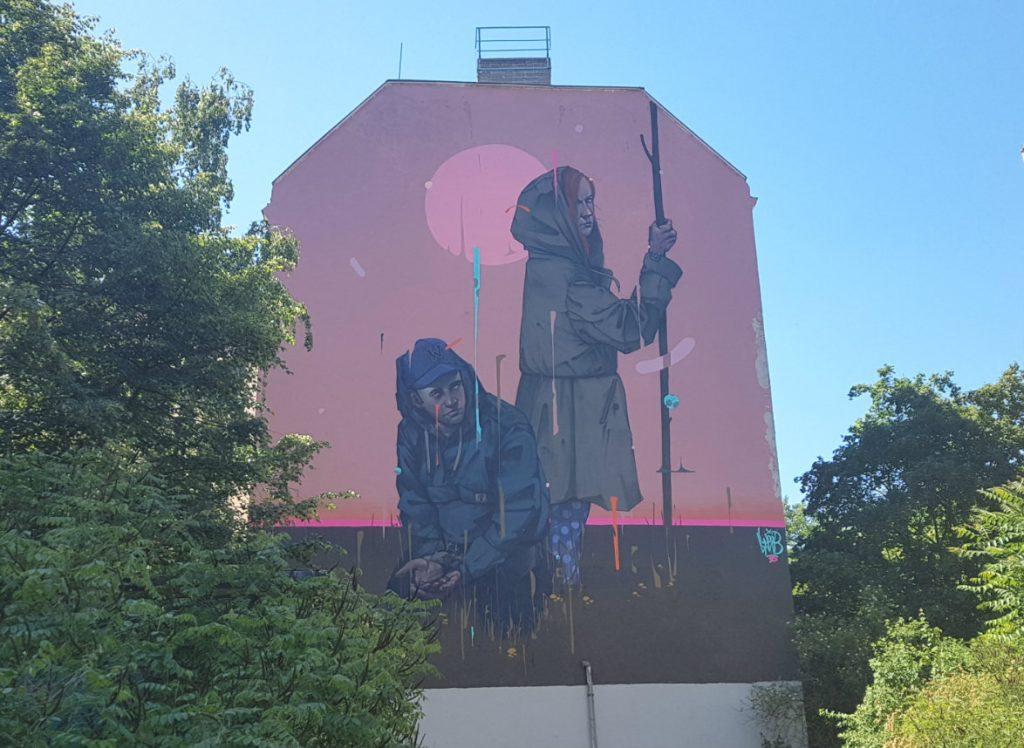 Berlin Mural Fest Friedrichshain Mr Woodland