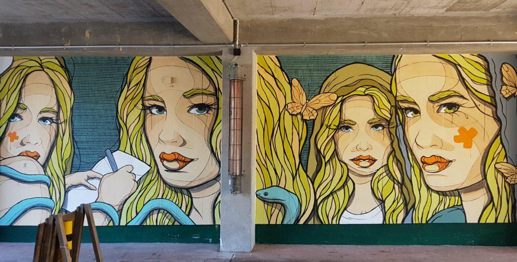 Berlin Mural Fest Friedrichshain El Bocho Holzmarkt
