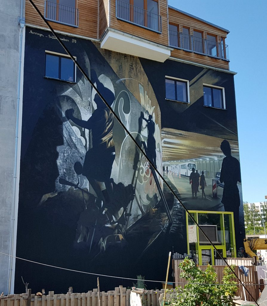 Berlin Mural FestHolzmarkt Friedrichshain Tasso