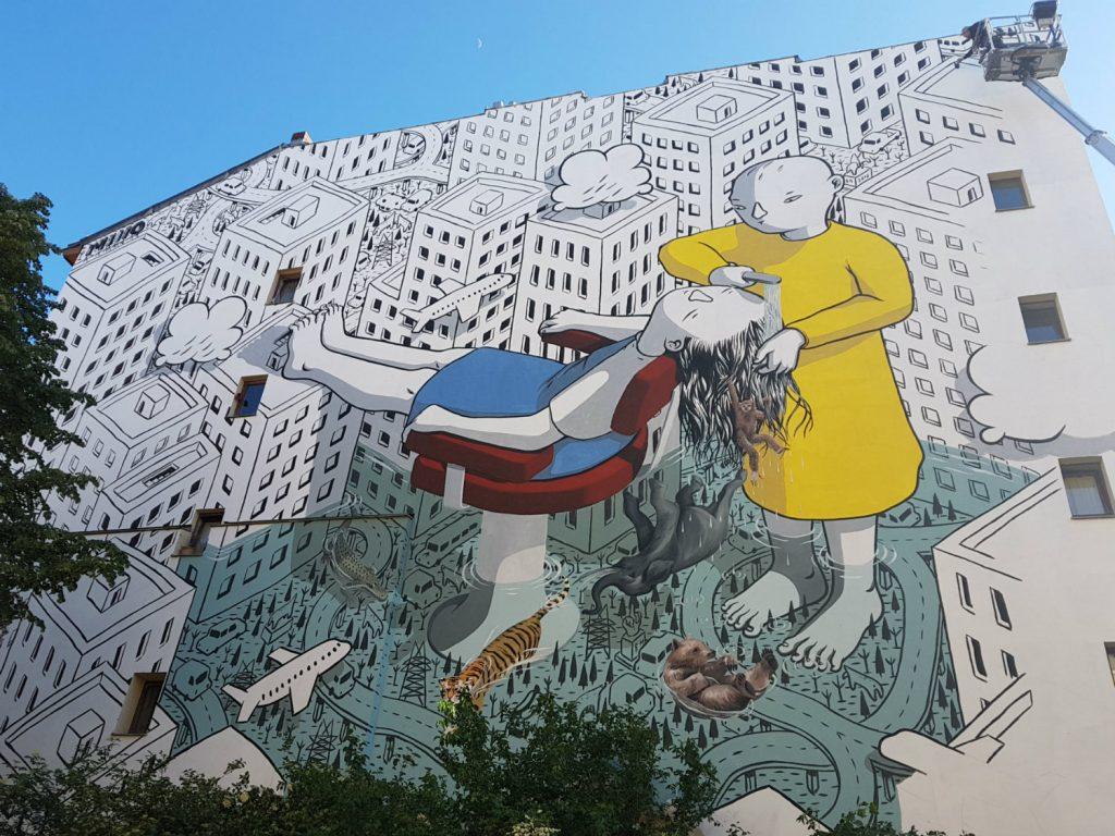 Berlin Mural Fest Kreuzberg Millo
