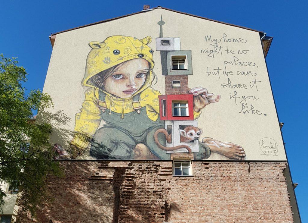 Berlin Mural Fest Kreuzberg Herakut